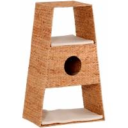 Grande tour pour chat en jacinthe d'eau tressée Glen  - SILVIO DESIGN