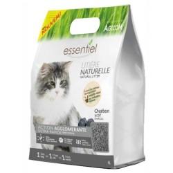 Litière végétale au soja Essentiel Charbon actif - AGECOM