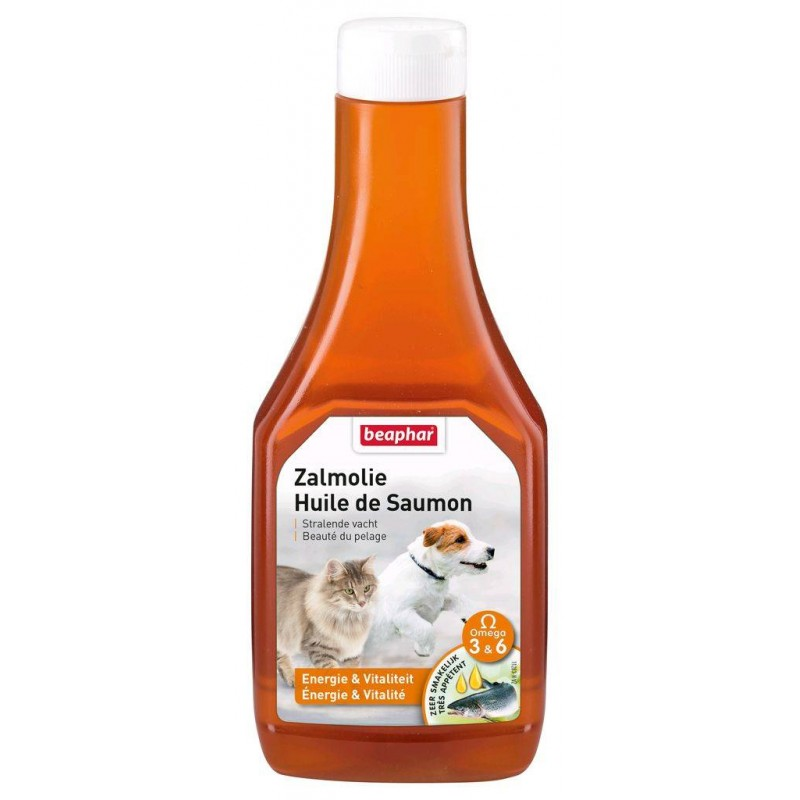 Huile de Saumon pour chat - BEAPHAR