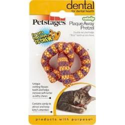 Jouet dentaire pour chat à la cataire Pretzel - PETSTAGES