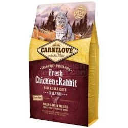 CARNILOVE - Croquettes pour chat sans pomme de terre à la viande