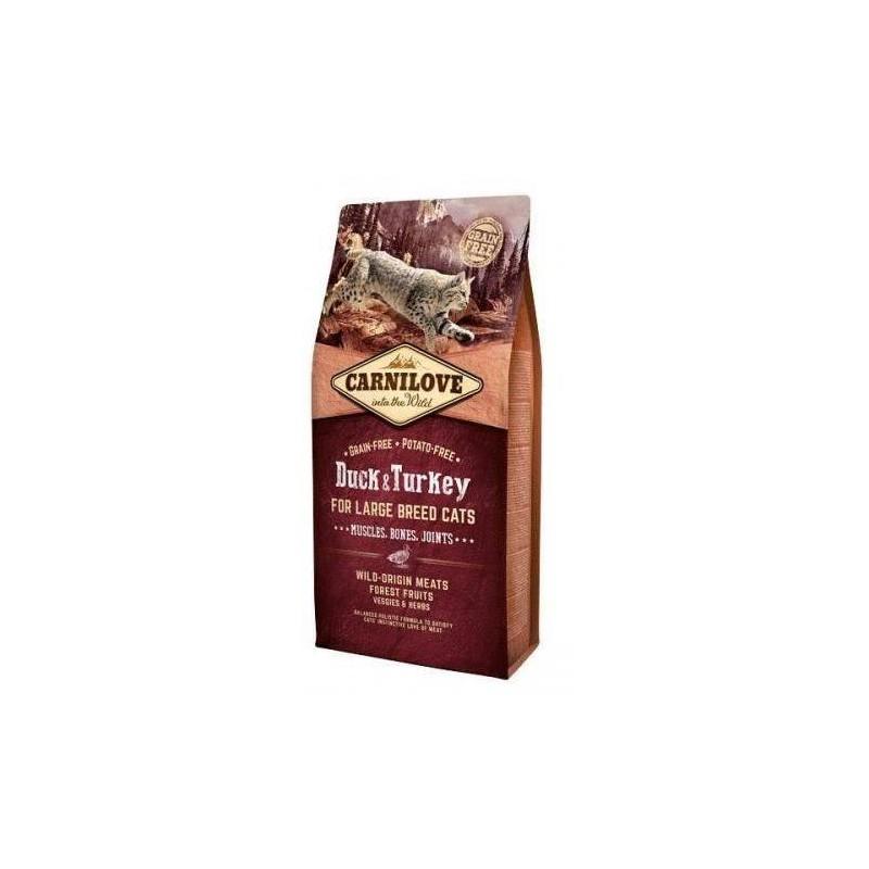 CARNILOVE - Croquettes spéciales  grand chat sans pomme de terre