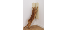 Planche à griffer d'angle murale en sisal pour chat - FLAMINGO