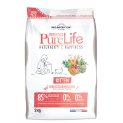 PURE LIFE - Croquettes pour chaton Super Premium sans céréale