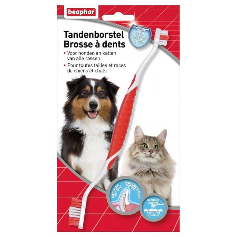 BEAPHAR - Brosse à dents haleine fraîche pour chien et chat