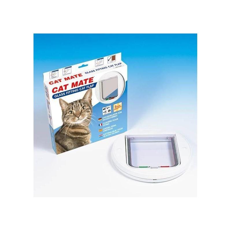 Chatière pour baie vitrée Glass Fitting - CAT MATE