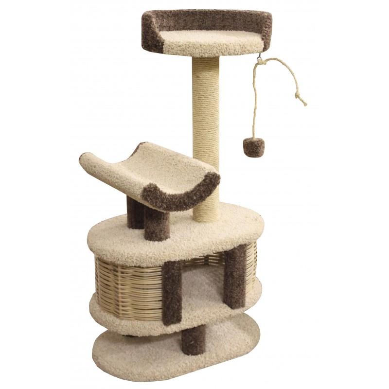 Arbre à chat revêtement moquette Youpi - CES'ART