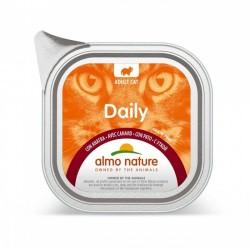 ALMO NATURE - Barquette Daily Menu sans céréale pour chat