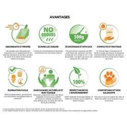 Litière pour chat 100% végétale CatLitter - ALMO NATURE