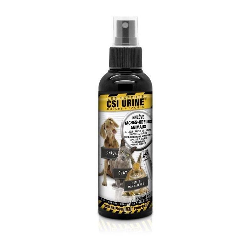 CSI URINE - Spray pour éliminer les tâches et les odeurs d'urine 150 ml
