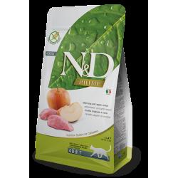 FARMINA - N&D Prime Sanglier et Pomme pour chat Adulte