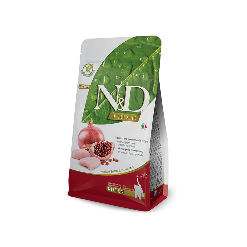 FARMINA - N&D Prime Poulet et Grenade pour Chaton