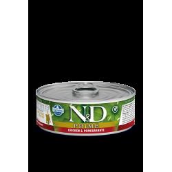 FARMINA - N&D Prime pâtée au poulet pour chaton 80 g