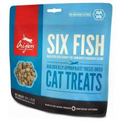 ORIJEN - Friandise pour chat Six Fish au poisson frais