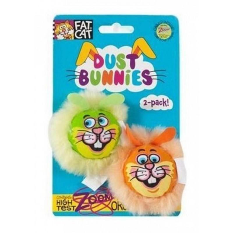 Jeux pour chat Dust Bunnies x 2  - FAT CAT