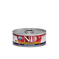 FARMINA - N&D Quinoa Weight Management pâtée pour chat 80 g