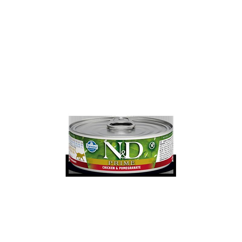FARMINA - N&D Prime pâtée complète pour chat 80 g