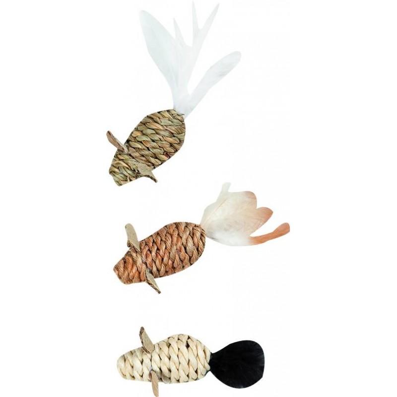 Jouet à griffer souris Seaweed - FLAMINGO