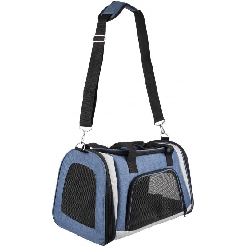 Sac de transport pour chat Matha 46x28x28 cm- FLAMINGO
