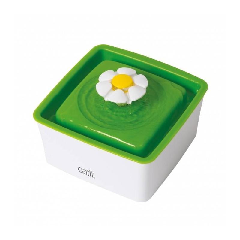 Fontaine à eau Mini Flower pour chat 1,5 L - CAT IT
