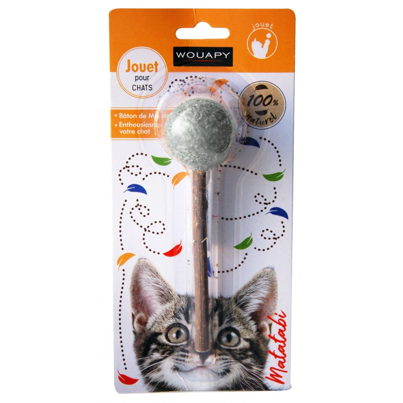 Jouet pour chat Matatabi et Cataire - WOUAPY