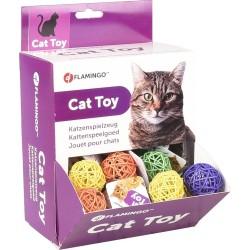 Balle de jeu pour chat Alex 4 cm - FLAMINGO