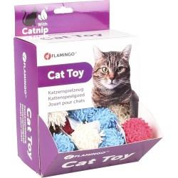 Balle de jeu pour chat Dax 4 cm - FLAMINGO