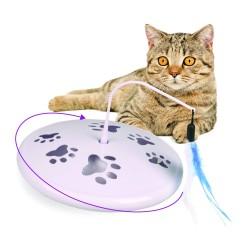 Jouet interactif et sonore pour chat Galaxy - FLAMINGO