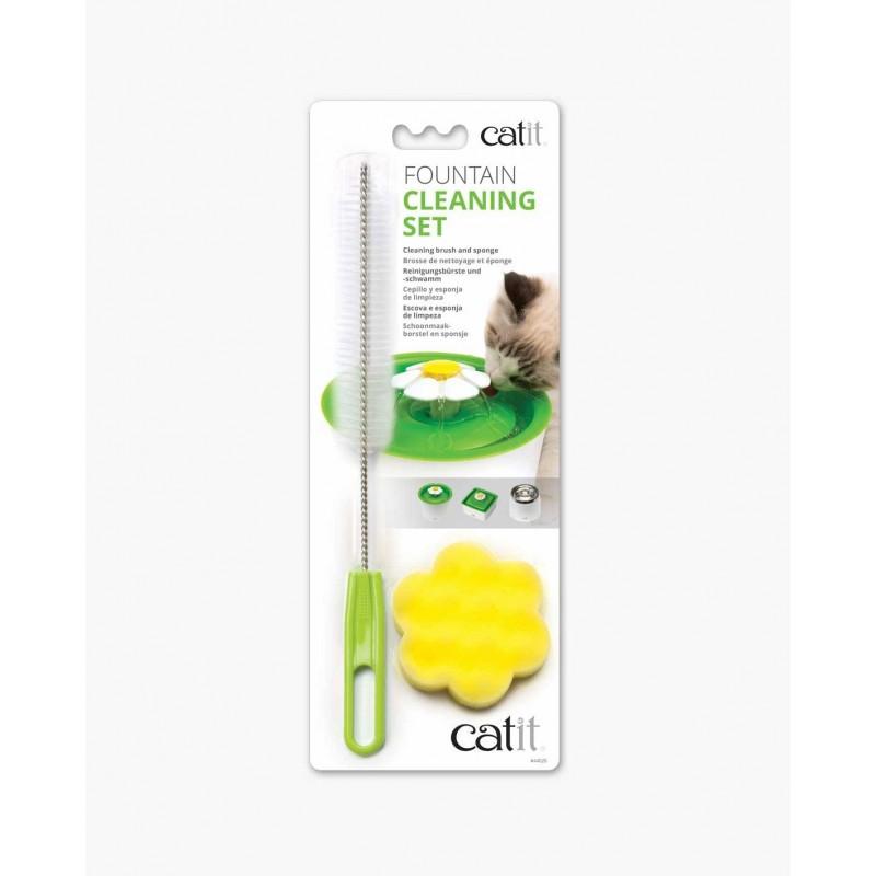 Kit de nettoyage pour fontaine à eau Flower - CAT IT