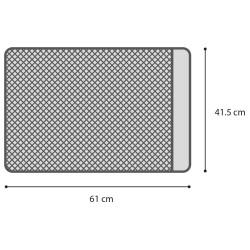 Tapis pour bac à litière Matz 61x41 cm FLAMINGO