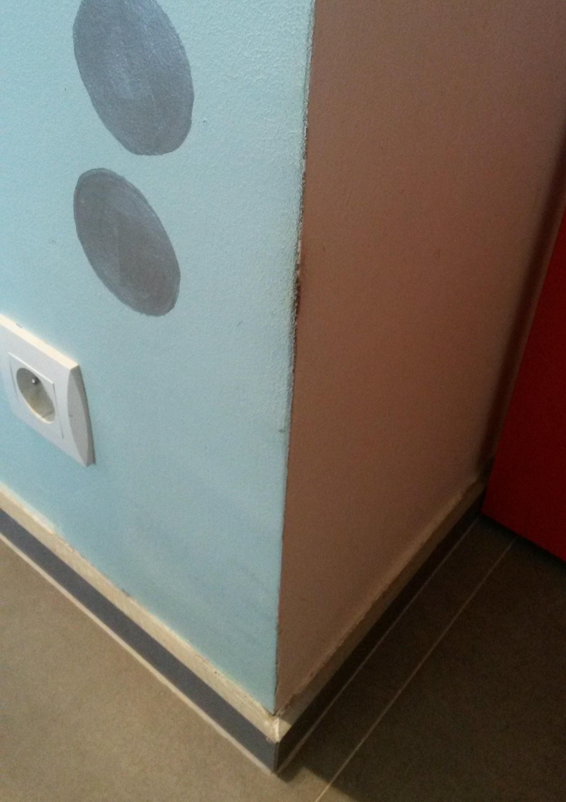 Les marques laissées par les chats sur les murs ne sont pas sales !