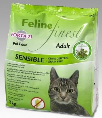 Croquettes pour chat Porta 21 Feline Finest sans céréales